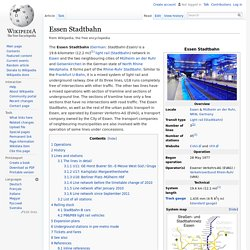 Essen Stadtbahn