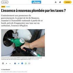 L'essence à nouveau plombée par les taxes ?