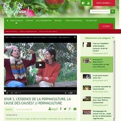 Jour 1, l'essence de la permaculture, la cause des causes? // Permaculture