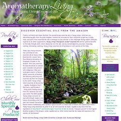 Aromatherapy Living with Young Living Essential Oils