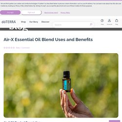 Air-X Essential Oil Blend Uses and Benefits