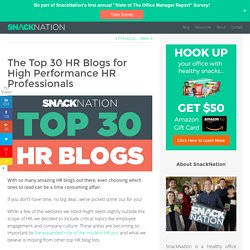 30 Essential HR Blogs Every HR Pro Should Read in 2016