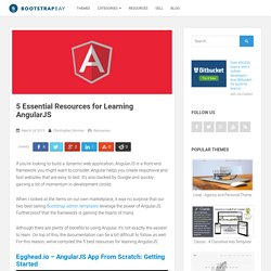 5 Essential Resources for Learning AngularJS - BootstrapBay