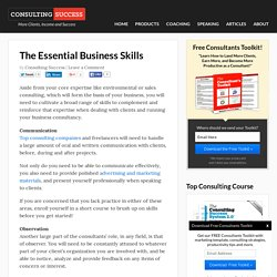 Essential Business Skills
