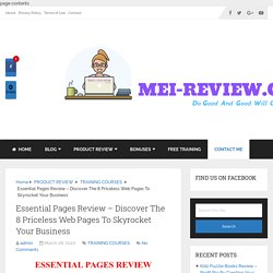 Essential Pages Review - Protect Business From Coronavirus
