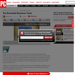 Ten Essential Business Tools - Presentations: Prezi.com