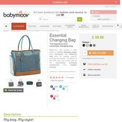 Essential Changing Bag from Our Changing Bags Range