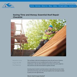 Essential Roof Repair Checklist - 730 South Exteriors