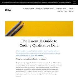 Essential Guide to Coding Qualitative Data