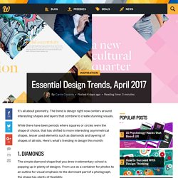 Essential Design Trends, April 2017