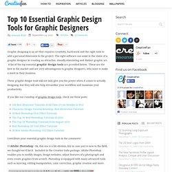 Top 10 Essential Graphic Design Tools for Graphic Designers
