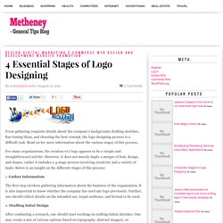 4 Essential Stages of Logo Designing