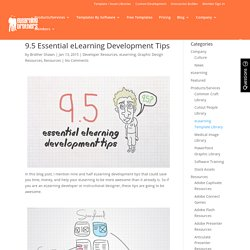 9.5 Essential eLearning Development Tips