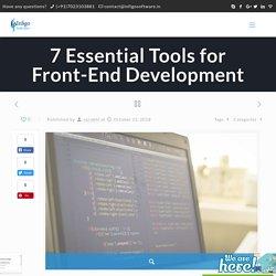 7 Essential Tools for Front-End Development - Infigo Software