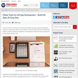 8 Essential iOS App Development Tools