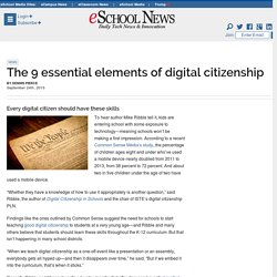 The 9 essential elements of digital citizenship