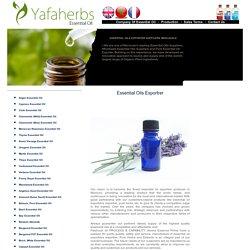 bulk Essential Oils Exportrer Morocco