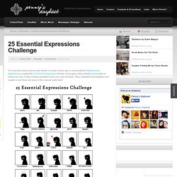 25 Essential Expressions Challenge | Penny's Daybook