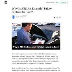 Why Is ABS An Essential Safety Feature In Cars?