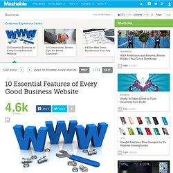 10 Essential Features of Every Good Business Website