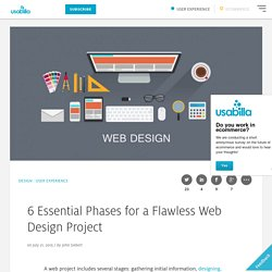 6 Essential Phases for a Flawless Web Design Project - Usabilla Blog