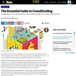 The Essential Guide to Crowdfunding