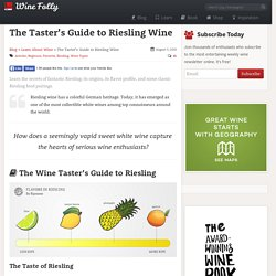 The Essential Guide to Riesling Wine