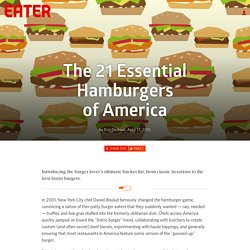 The 21 Essential Hamburgers of America