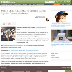 5 Essential Infographic Design Tips