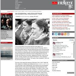 AN ESSENTIAL HOLOCAUST FILM
