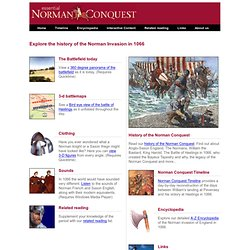Essential Norman Conquest - An interactive day-by-day retelling of the events of 1066