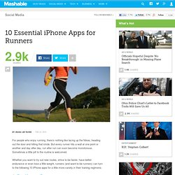 10 Essential iPhone Apps for Runners