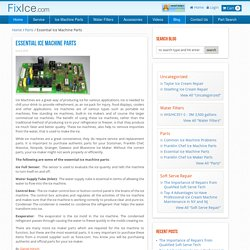 Welcome to FixIce Parts and Accessories Blog