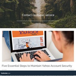 Five Essential Steps to Maintain Yahoo Account Security