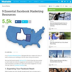 9 Essential Facebook Marketing Resources