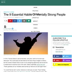 The 9 Essential Habits Of Mentally Strong People