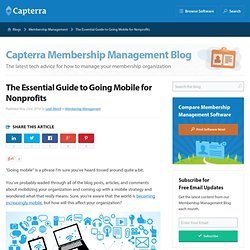 The Essential Guide to Going Mobile for Nonprofits