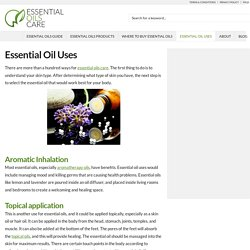 Essential Oil Uses - Essential Oils Care