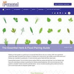 The Essential Herb & Food Pairing Guide - Personal Creations Blog