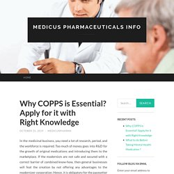 Process of Copps application