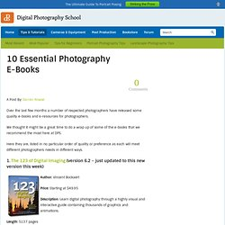 10 Essential Photography E-Books
