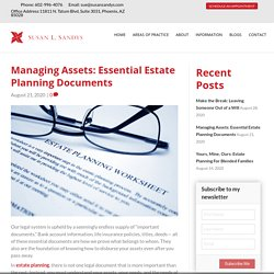 Essential Estate Planning Documents