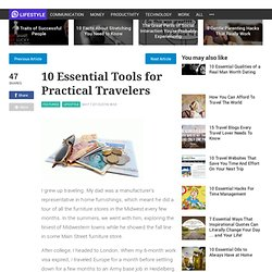 10 Essential Tools for Practical Travelers