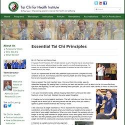 Essential Tai Chi Principles
