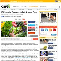 17 Essential Reasons to Eat Organic Food