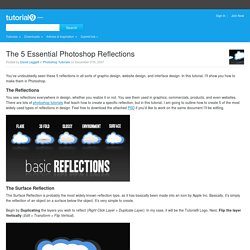 The 5 Essential Photoshop Reflections