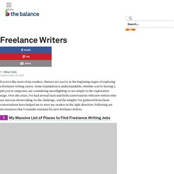 Six Essential Resources for New Freelance Writers