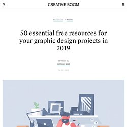 50 essential free resources for your graphic design projects in 2019