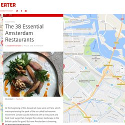 The 38 Essential Amsterdam Restaurants