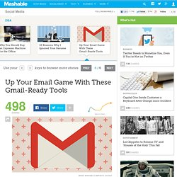 5 Cheap, Gmail-Ready Tools Essential to Running a Small Business